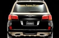 Накладка  Goldman Lexus LX 570 2008-2012