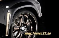 Фендера Goldman Lexus LX 570 2008-2012