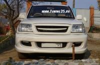 Передний бампер Zeal Toyota Land Cruiser 100 кузова/Cygnus