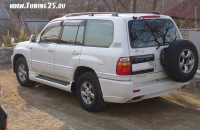 Задний бампер Elford Toyota Land Cruiser 100 кузова/Cygnus