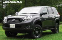 Фендера Elford Toyota Land Cruiser Prado 150 кузова