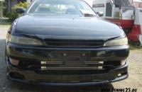 Решетка + реснички Toyota Mark II 90 кузова