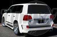 Задний бампер Elford type 2 Lexus LX 570 2008-2012