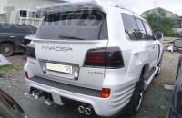 Спойлер Wald верхний Lexus LX 570 2008-2012
