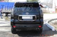 Спойлер верхний Toyota Land Cruiser Prado 150 кузова 2013-2017