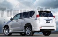 Задние уголки Jaos Toyota Land Cruiser Prado 150 кузова