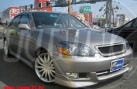 Комплект до и после рестайлинга Toyota Mark II 110 кузова