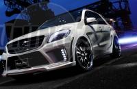Расширители колесных арок Mercedes M-class W 166